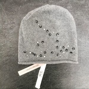 Aqua Knit Cap / Hat Bloomingdale's Exclusive NWT